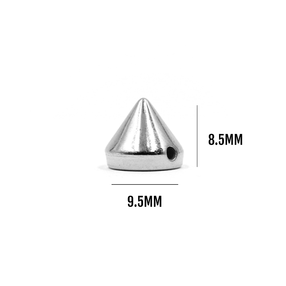 Metal Tips Rivets Package of 50/100 pcs