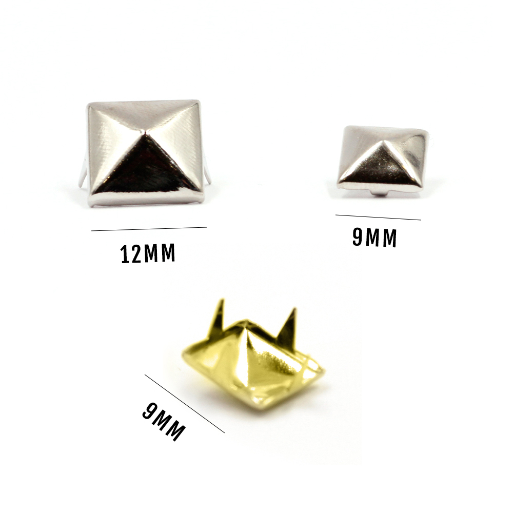 Pyramid Metal Studs Package of 50/100 pcs
