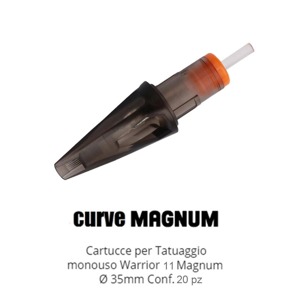 WARRIOR New Tattoo Cartridges ( Ø 0.35mm Curve Magnum)