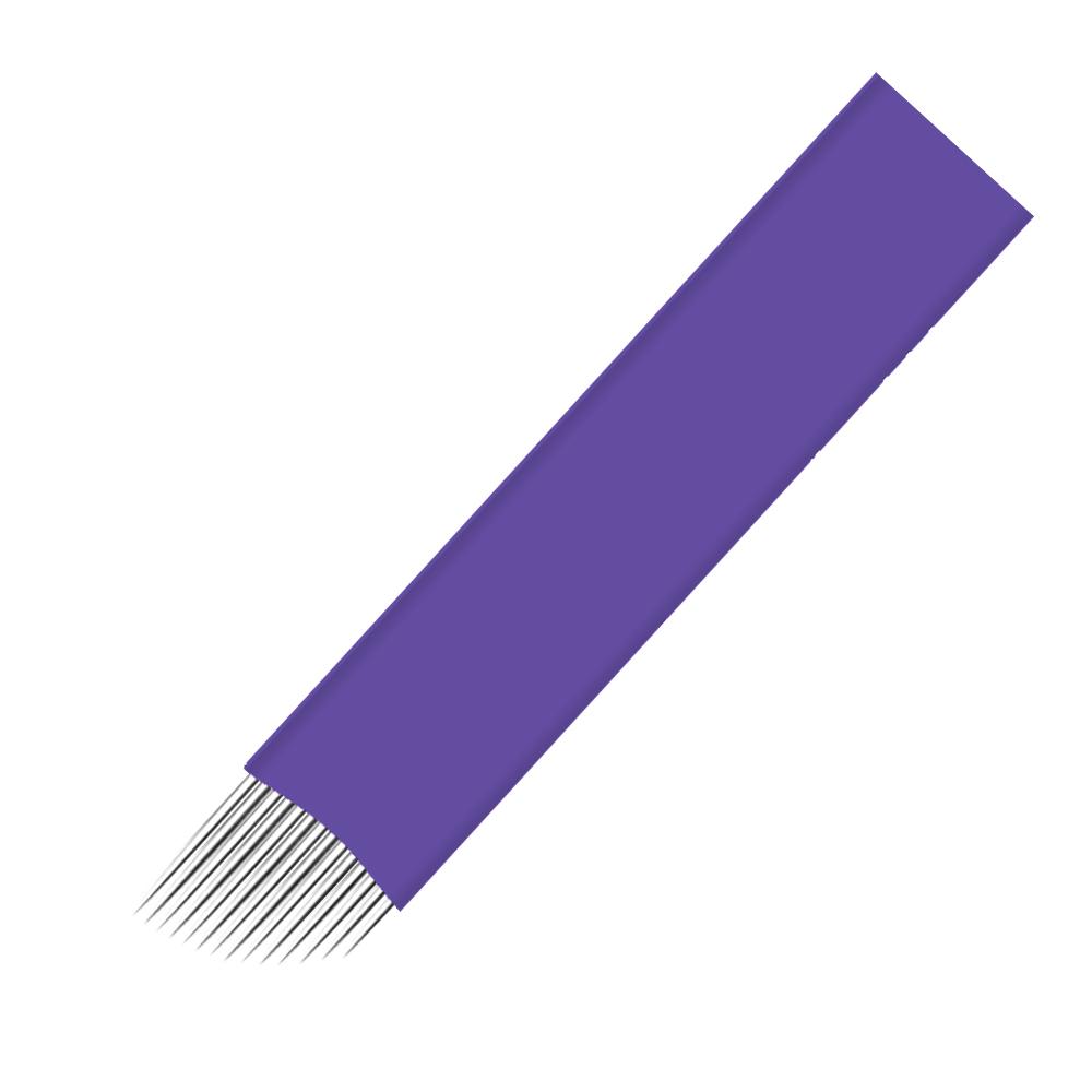 Flat Sloped Microblading Needles