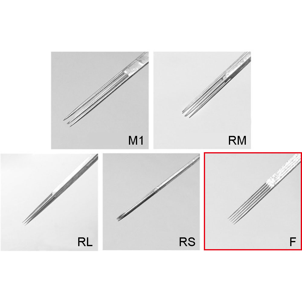 WARRIOR Flat 0,35 mm Tattoo Needle