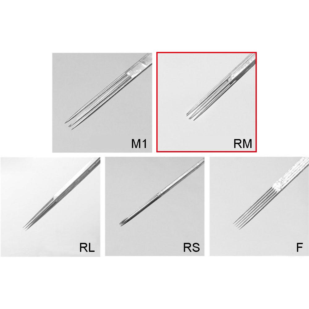 WARRIOR Round Magnum 0,30 mm Tattoo Needle