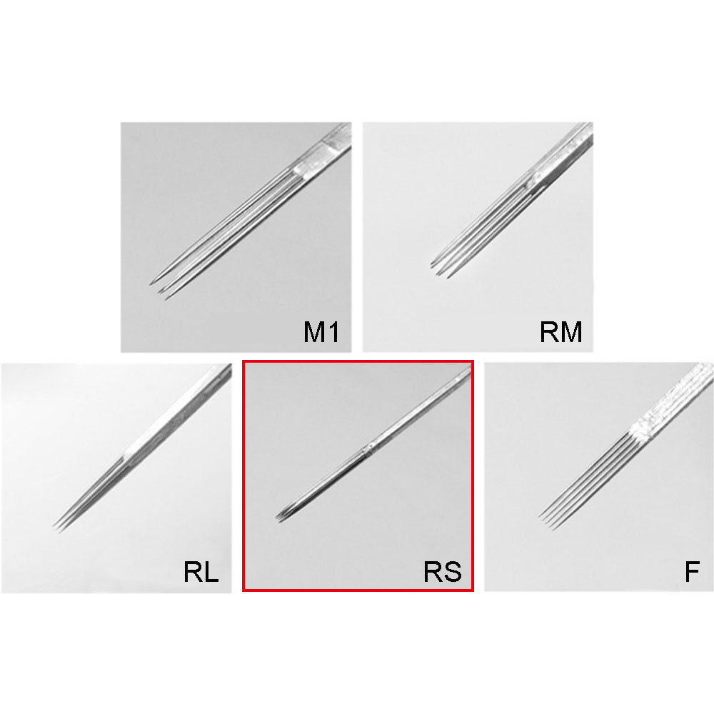 WARRIOR Round Shader 0,30 mm Tattoo Needle