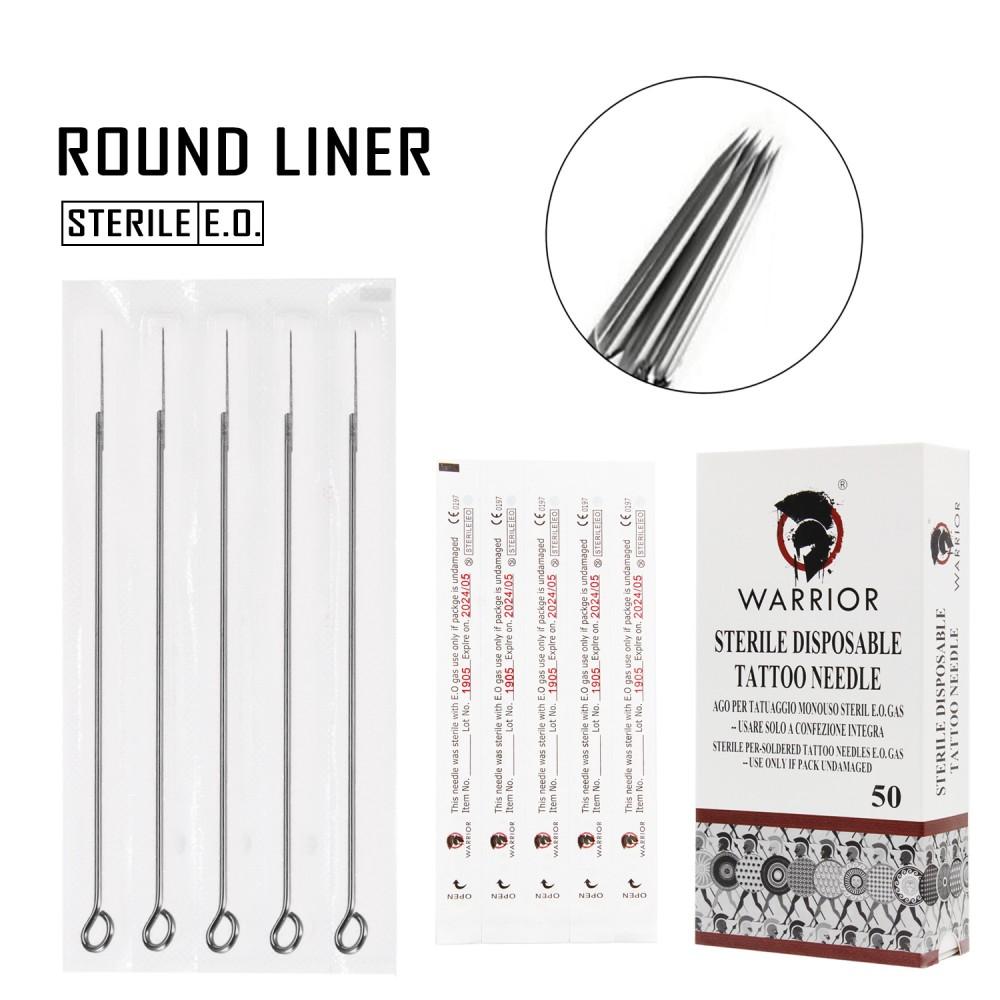 WARRIOR Round Liner 0,35 mm Tattoo Needle