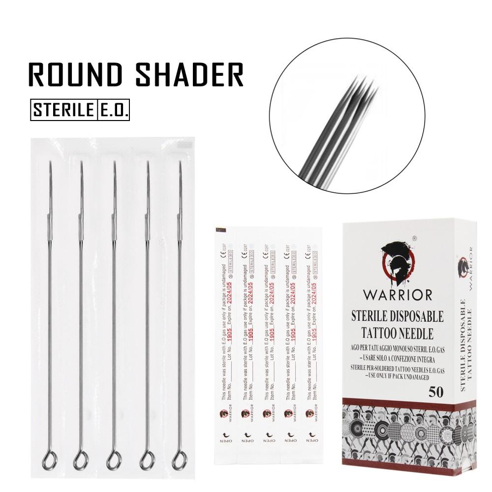 WARRIOR Round Shader 0,30 mm Tattoo Needle