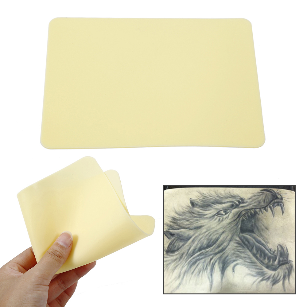 Synthetic leather for tattoo practice