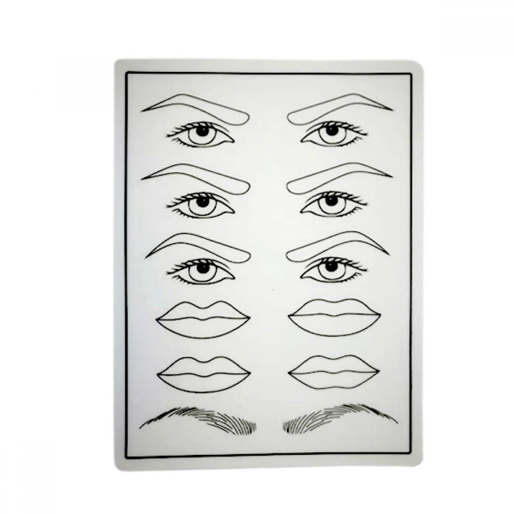 Microblading Silicon Eyebrows