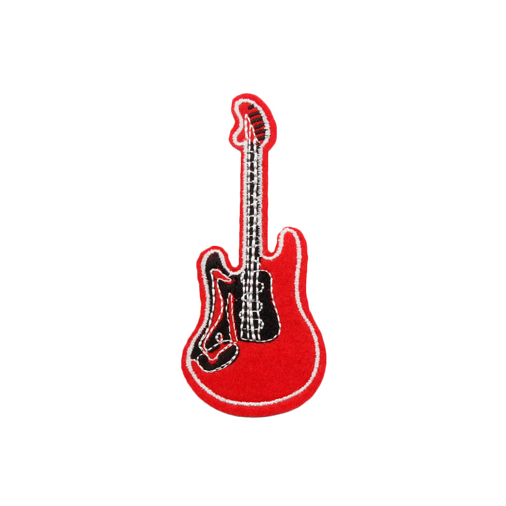 Patch  Red Guitar