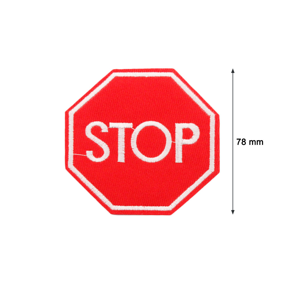 Patch  Sign of STOP