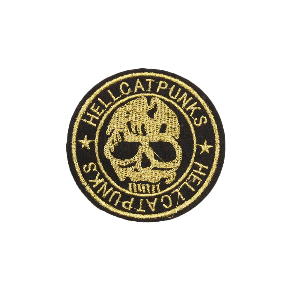 Patch  Skull Badge