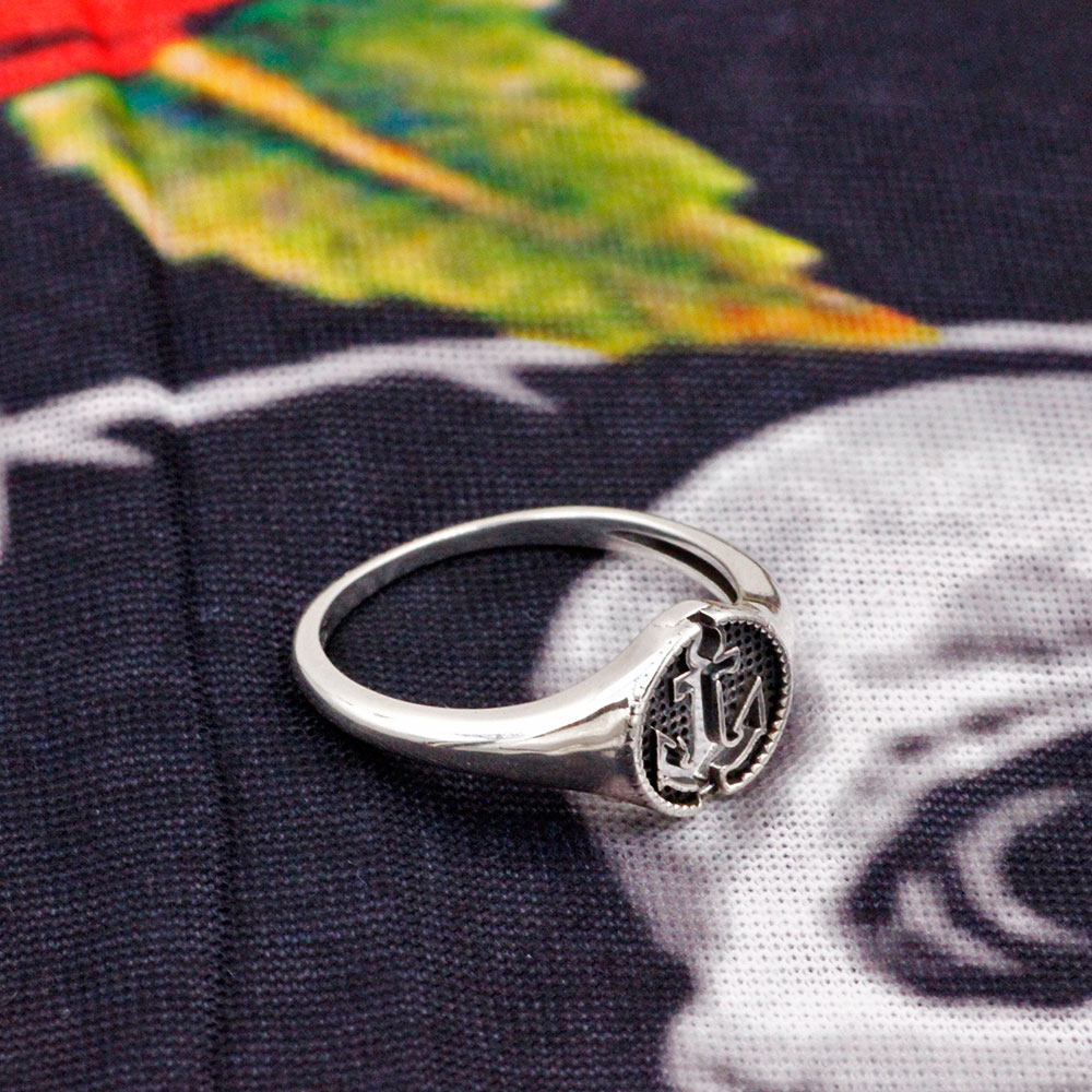 Silver Ring Anchor