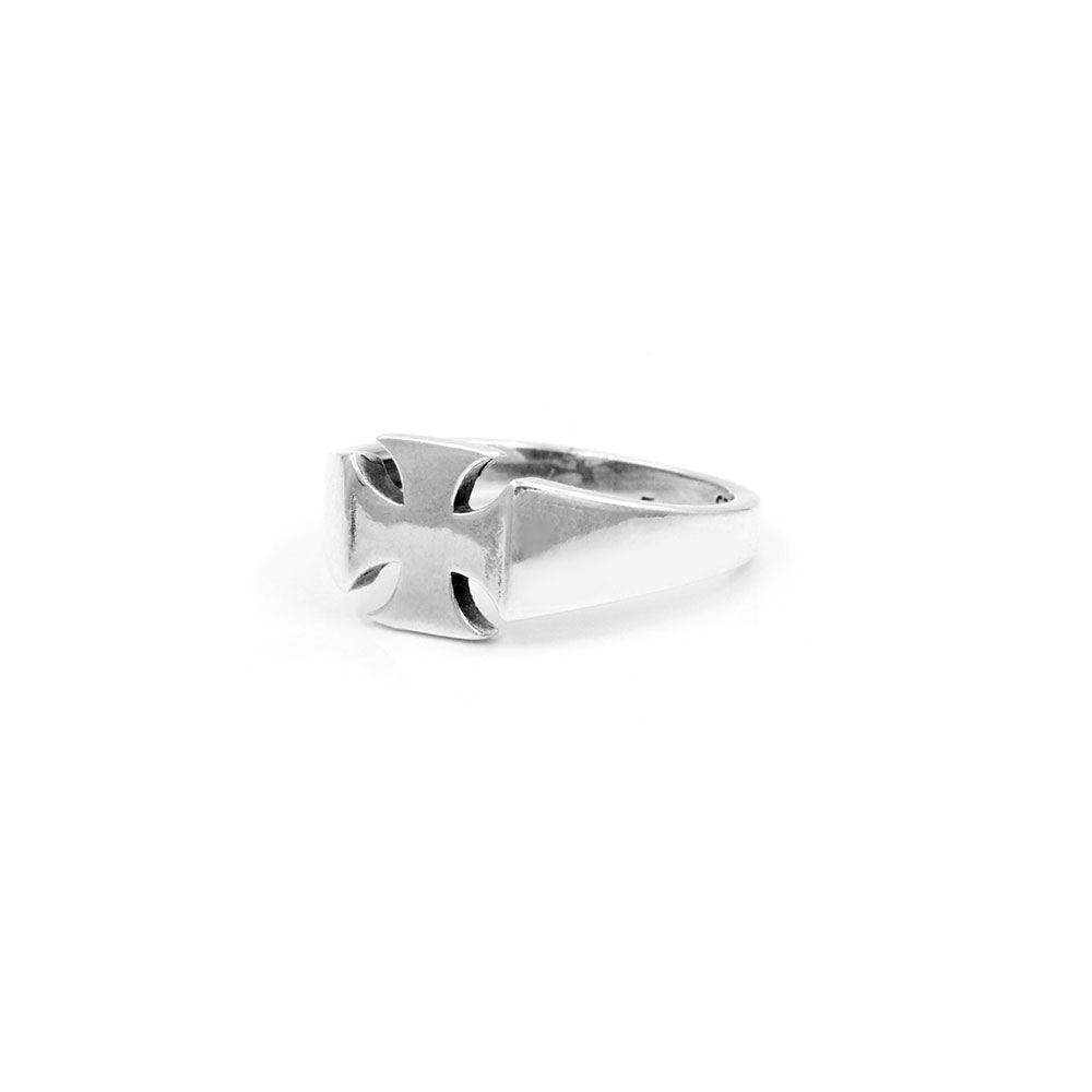 Silver Ring Celtic Cross