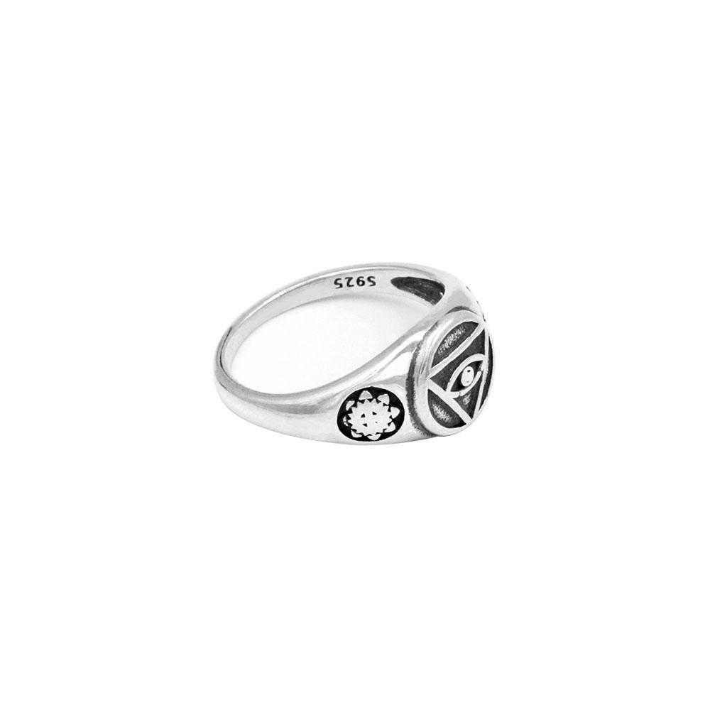 Silver Ring Eye of Providence