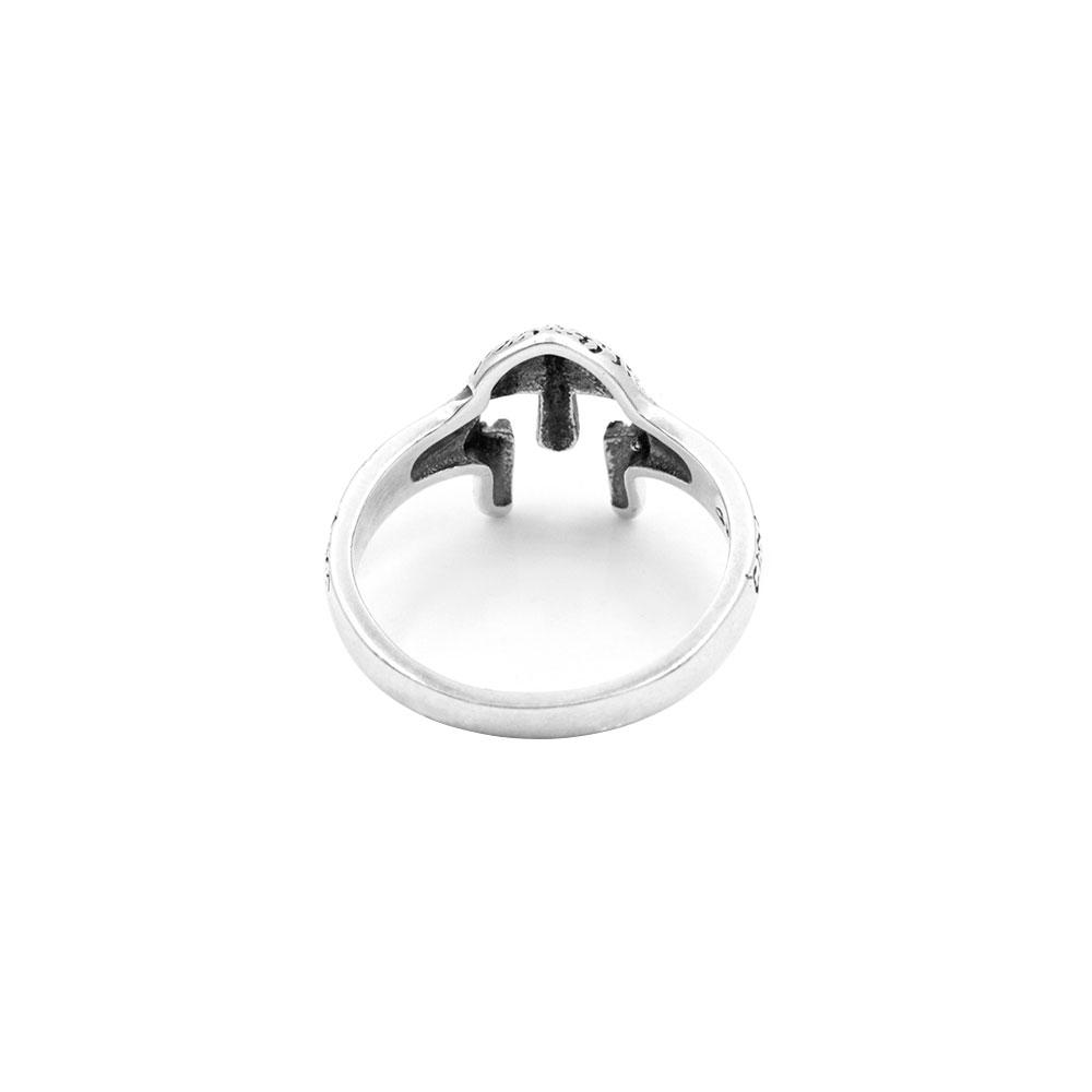 Spartan Helmet Silver Ring