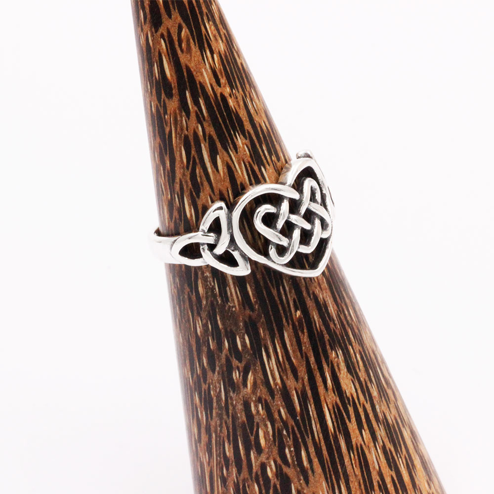 Silver Ring Heart