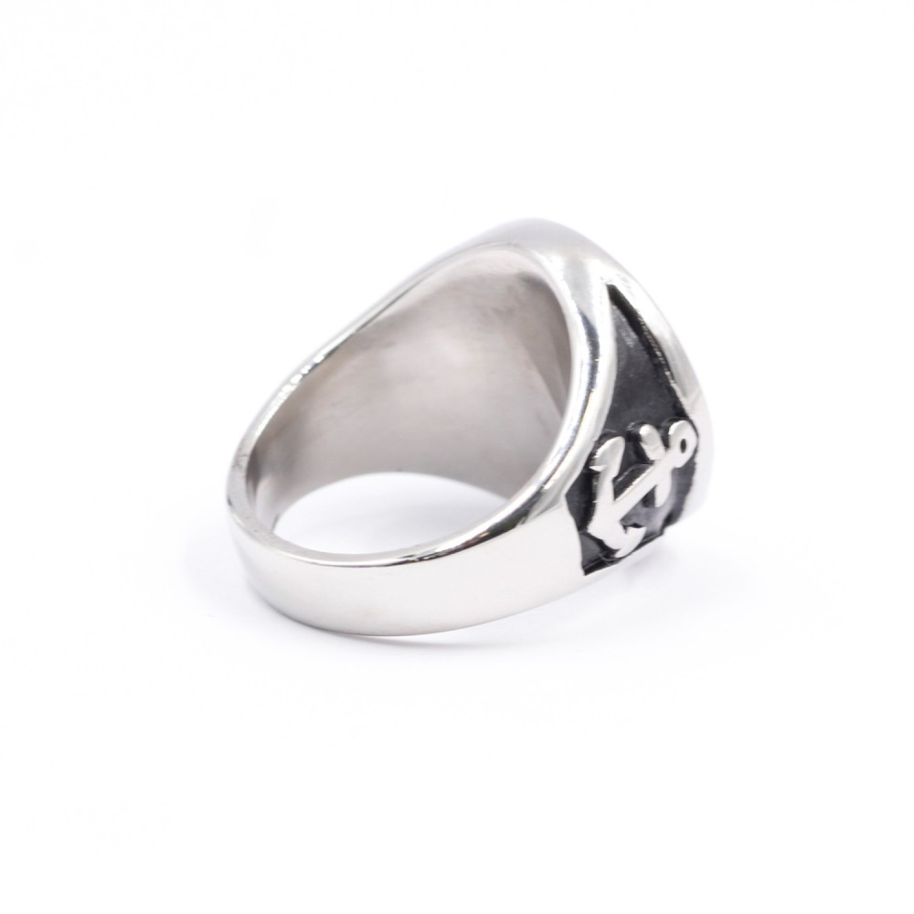 Ring SAILBOAT & NAUTICAL SYMBOL