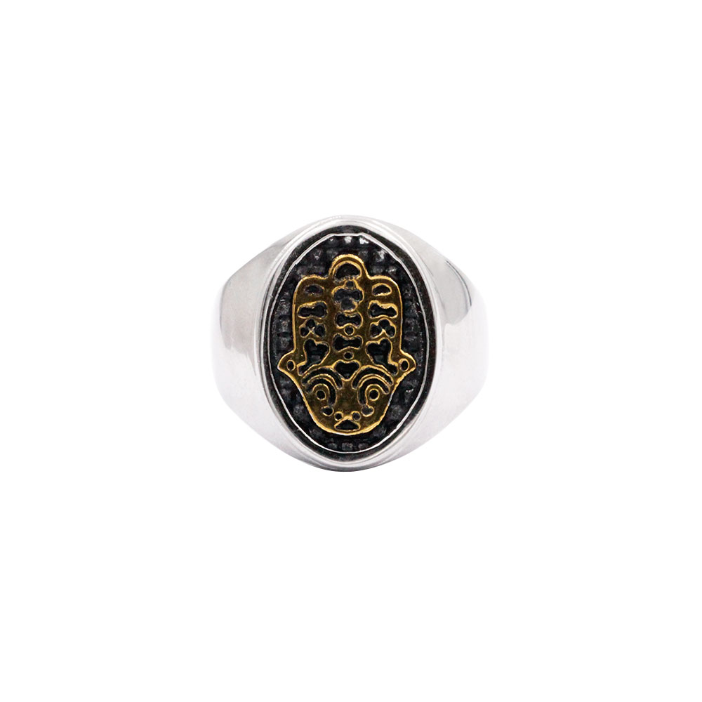 Ring Painted with Hand of Fatima