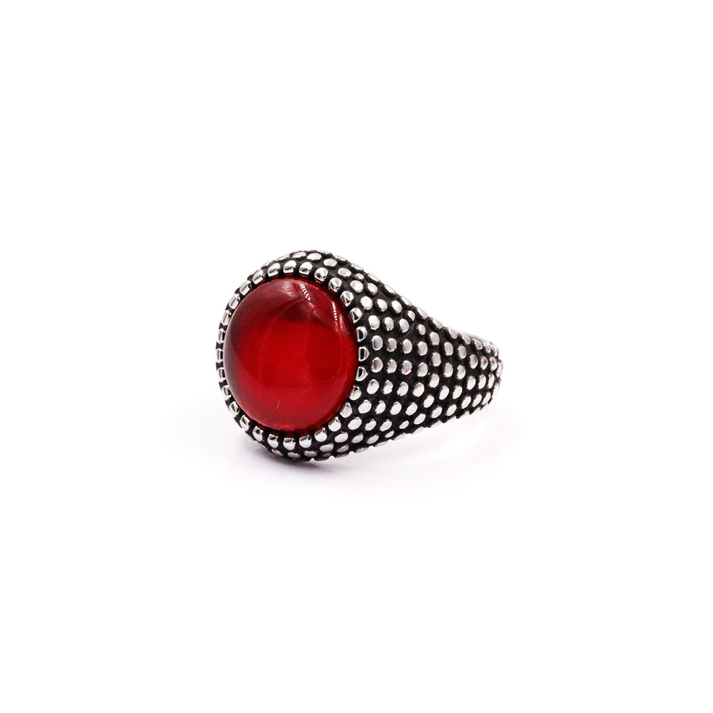 Ring Red Gem