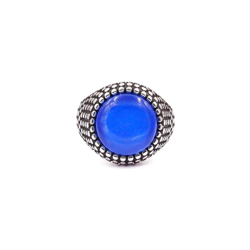 Ring Blue Gem