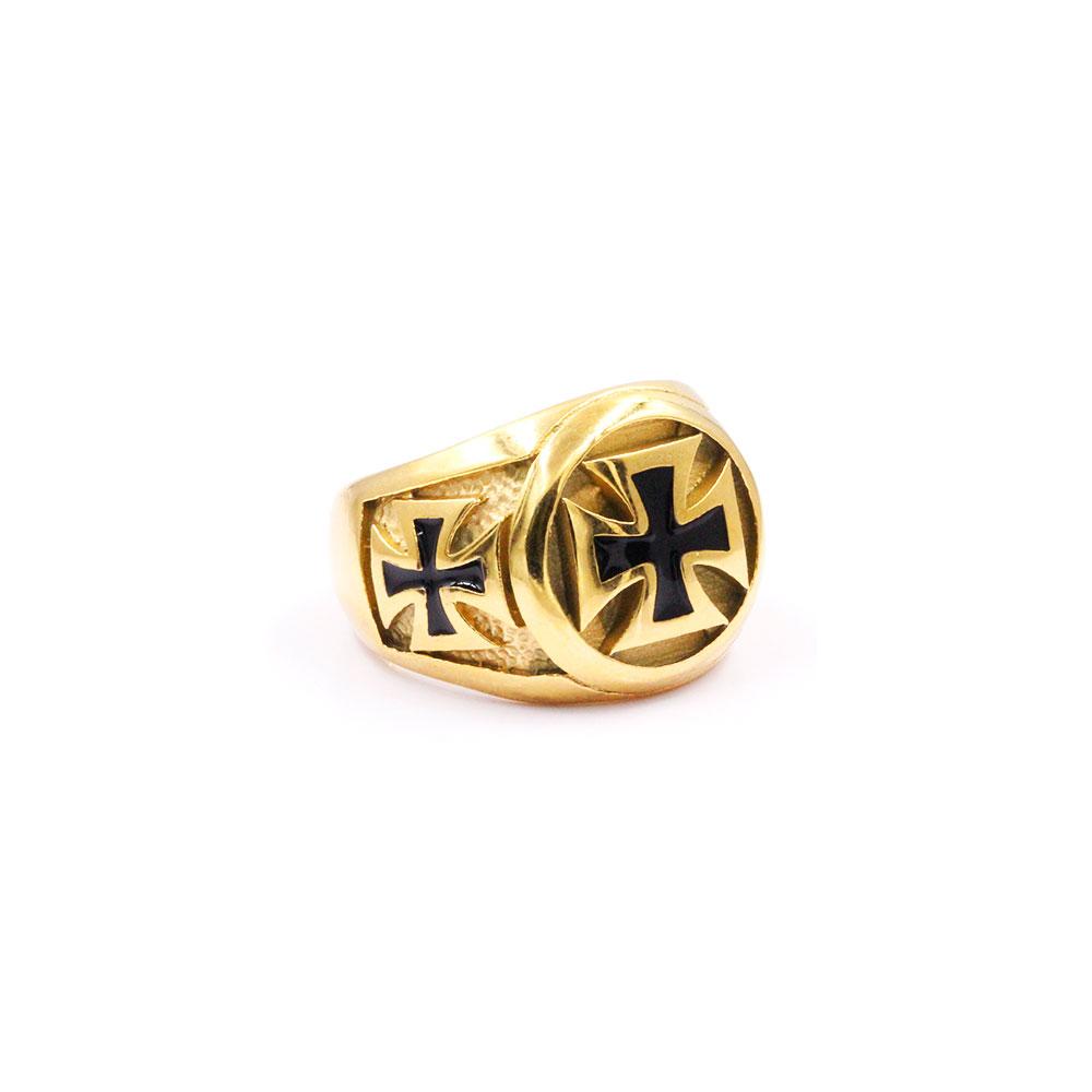 Ring Celtic Cross Gold