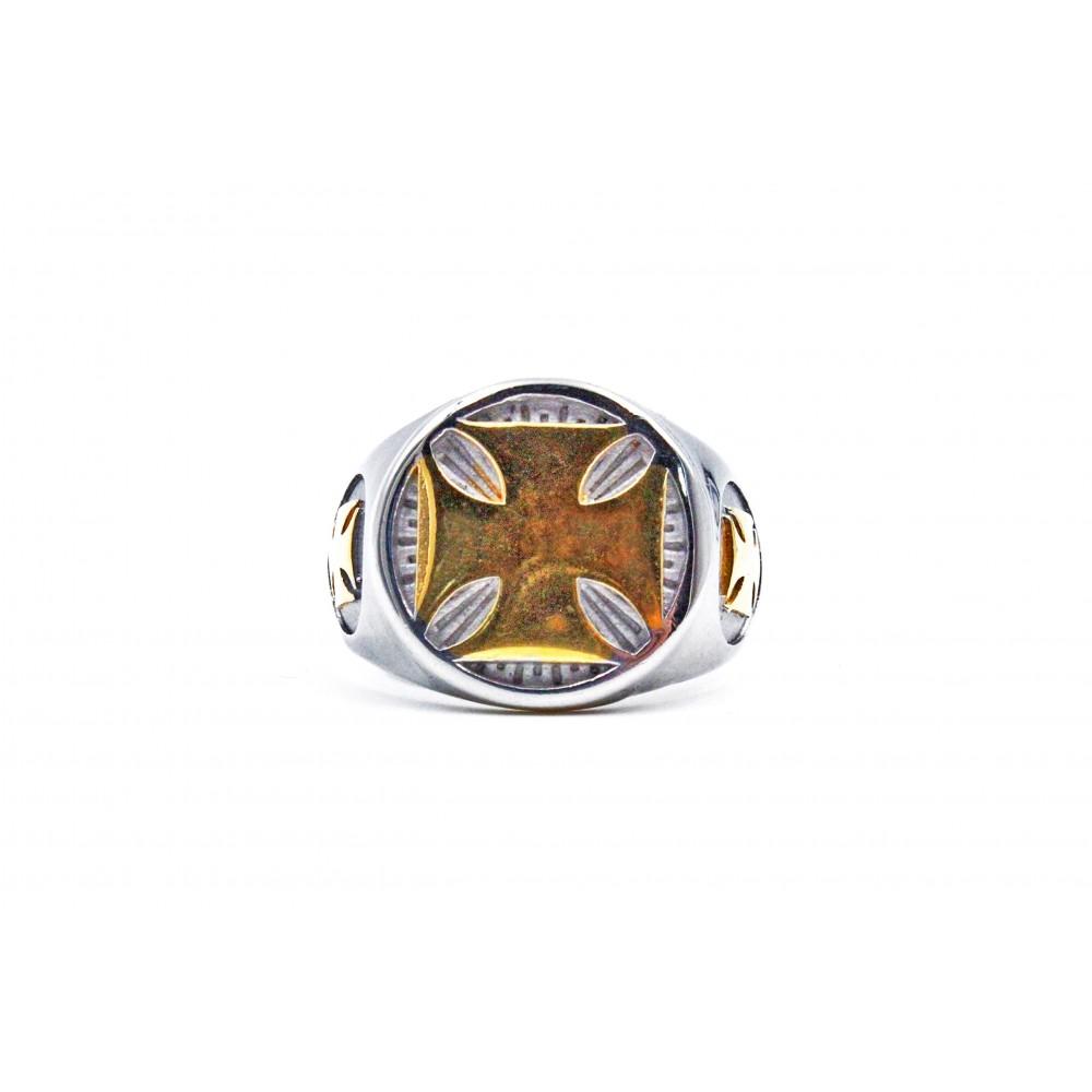 Ring Gold Celtic Cross