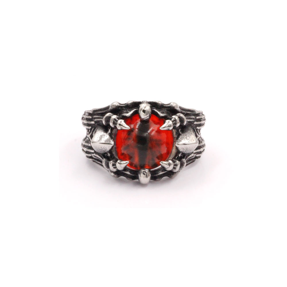 Ring Red Dragon Eye