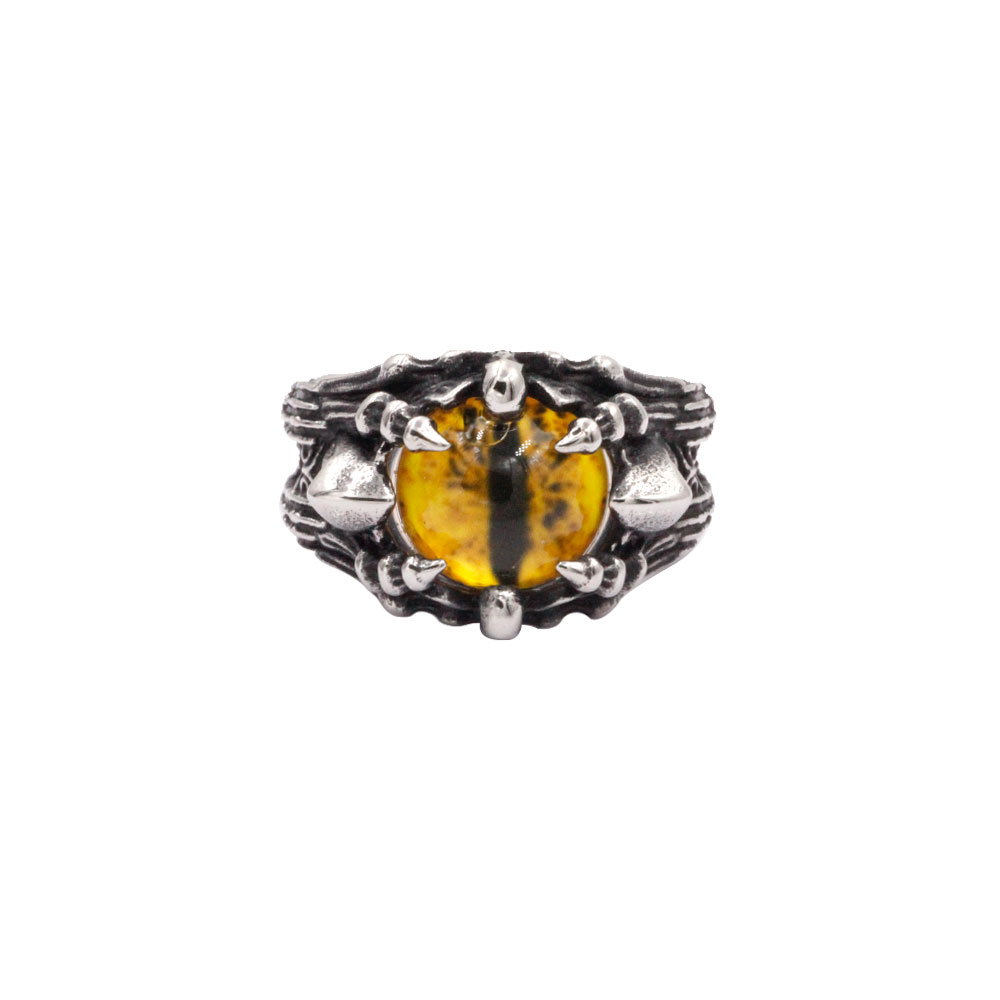 Ring Yellow Dragon Eye