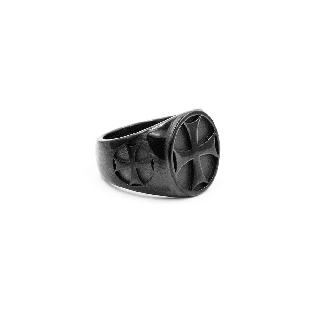 Ring Cross Black