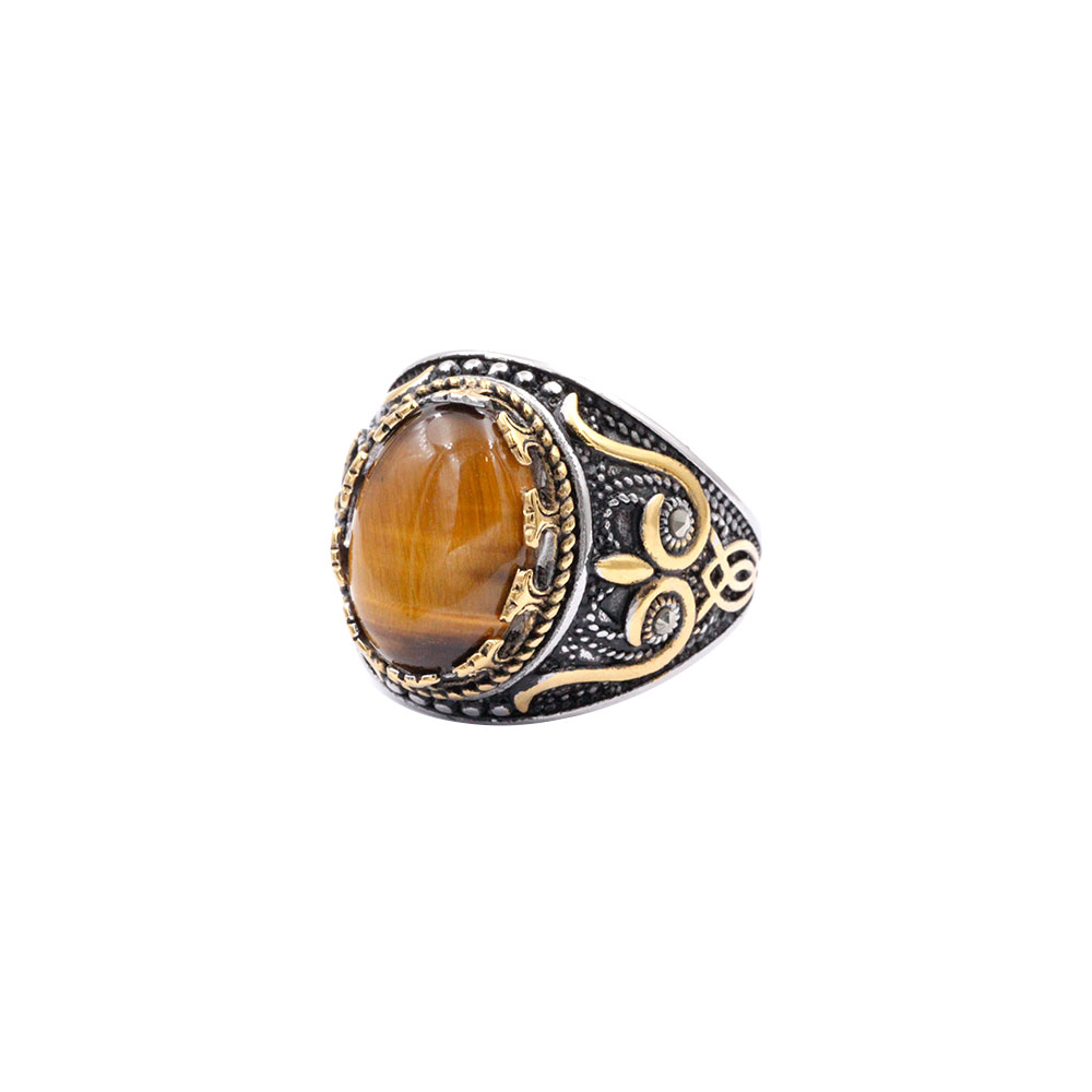 Ring with Yellow Gem