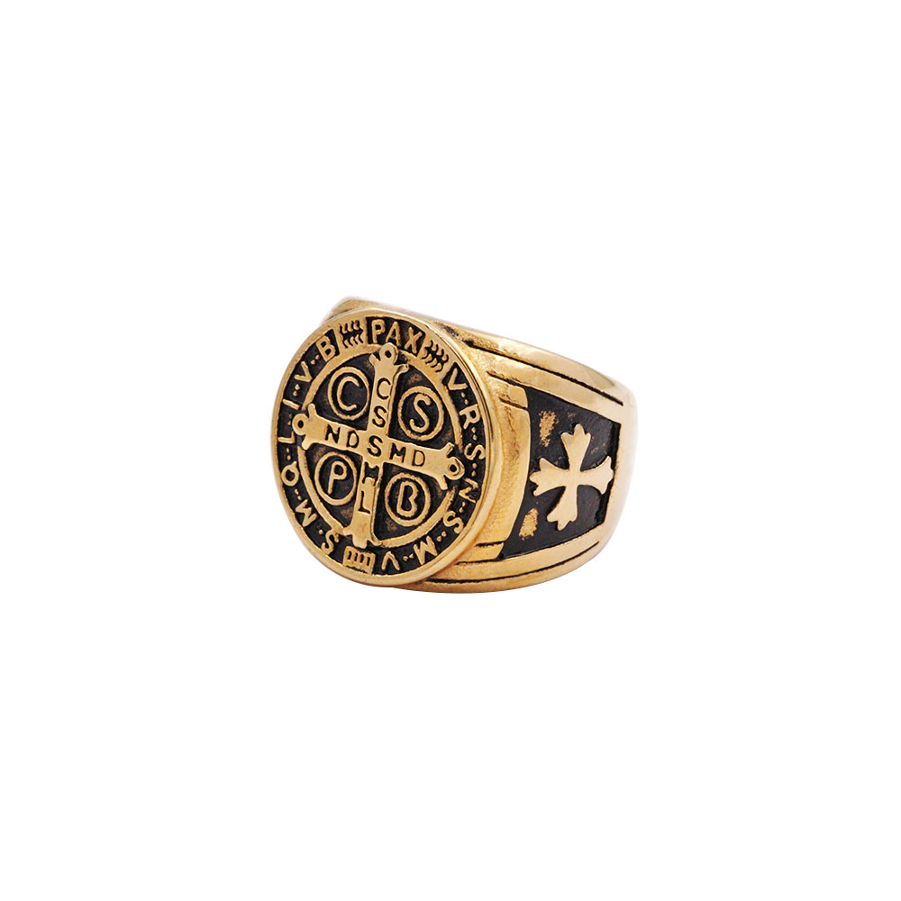 Ring St.Benedict Cross