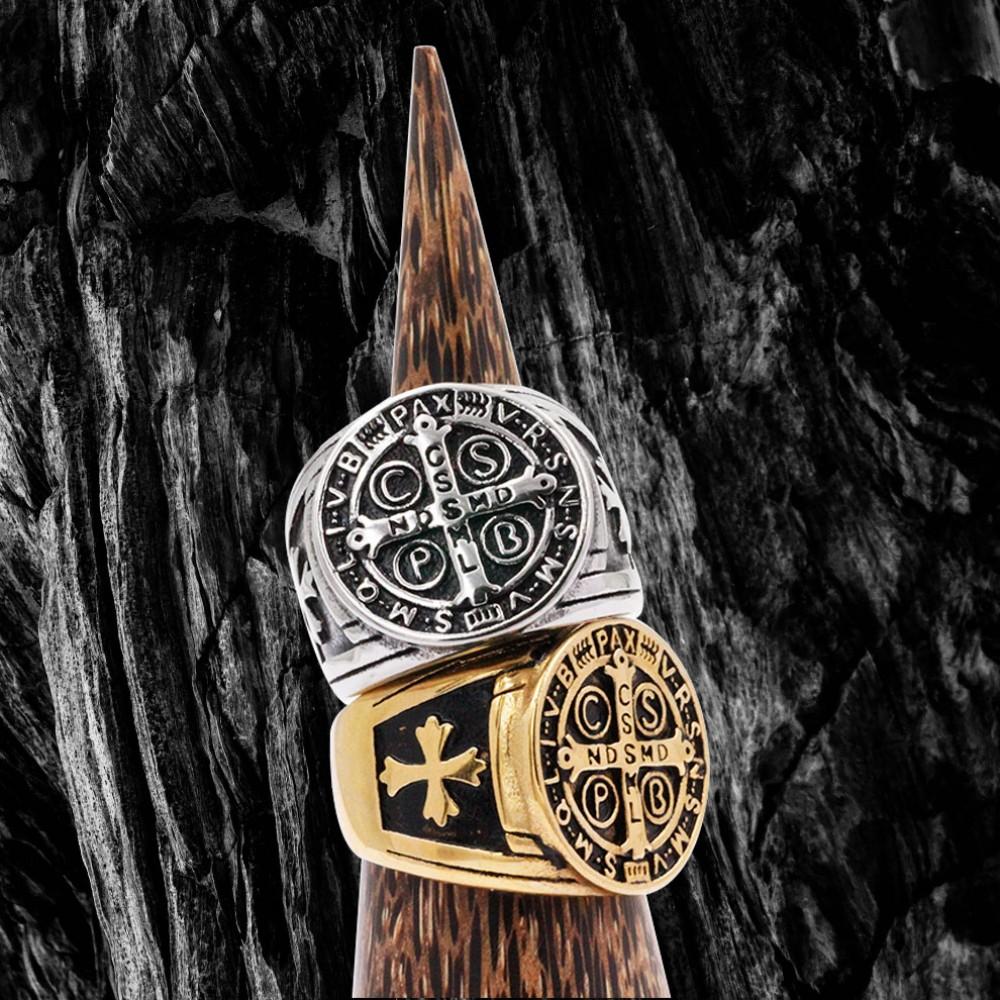 Ring St.Benedict Cross