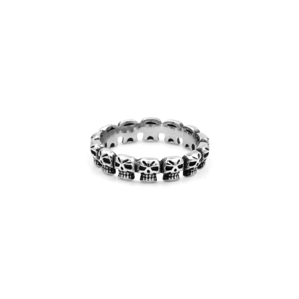 Ring with Skulls