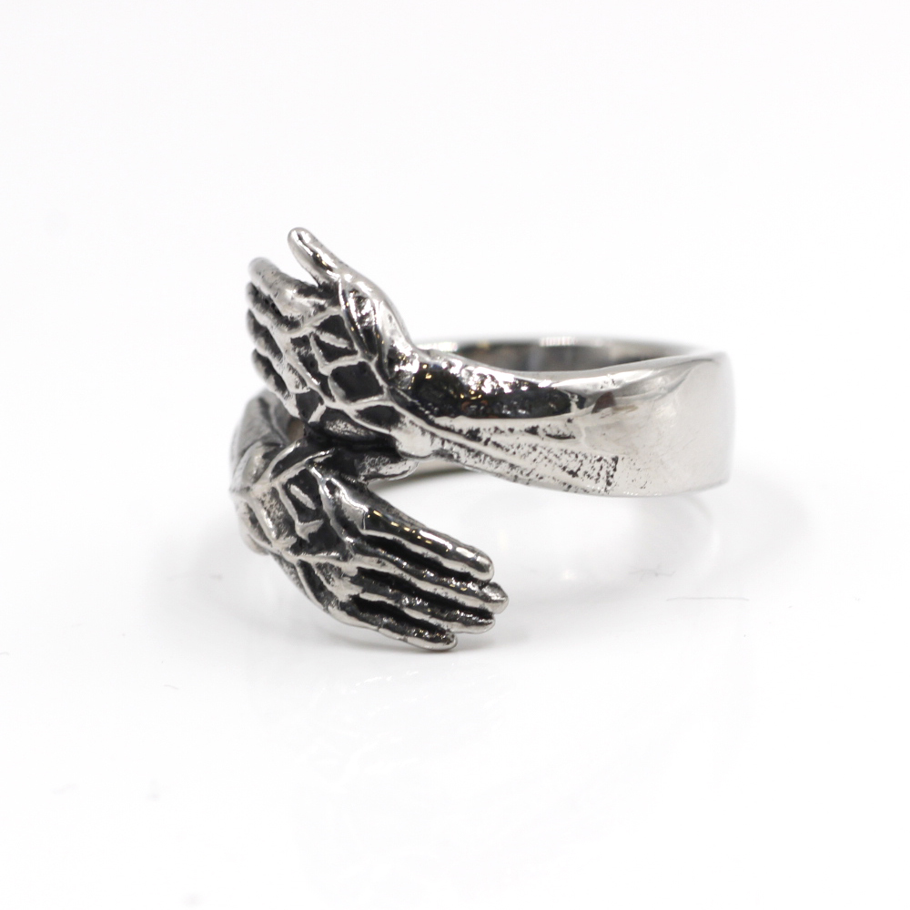 Ring wtih Gold Snake gothic