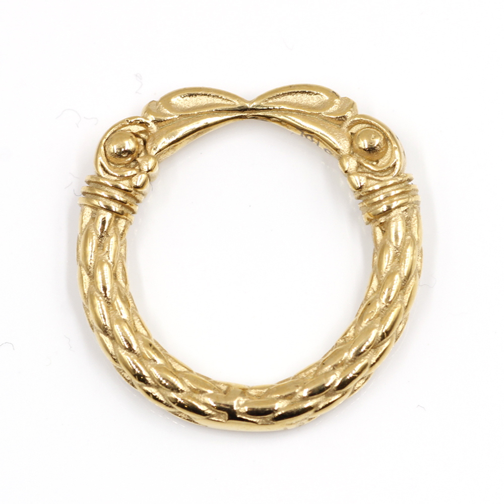 Ring with Eagle Claw Ring