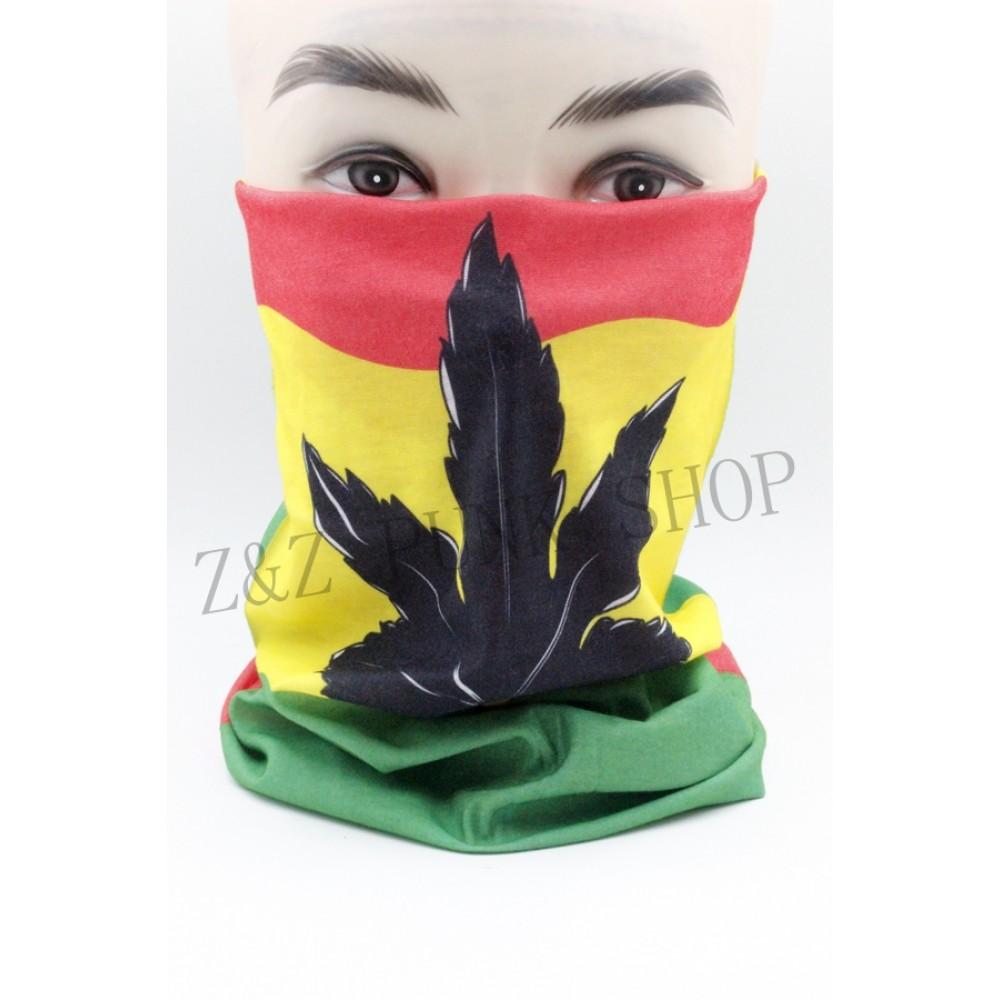 Bandana Tricolor Leaf
