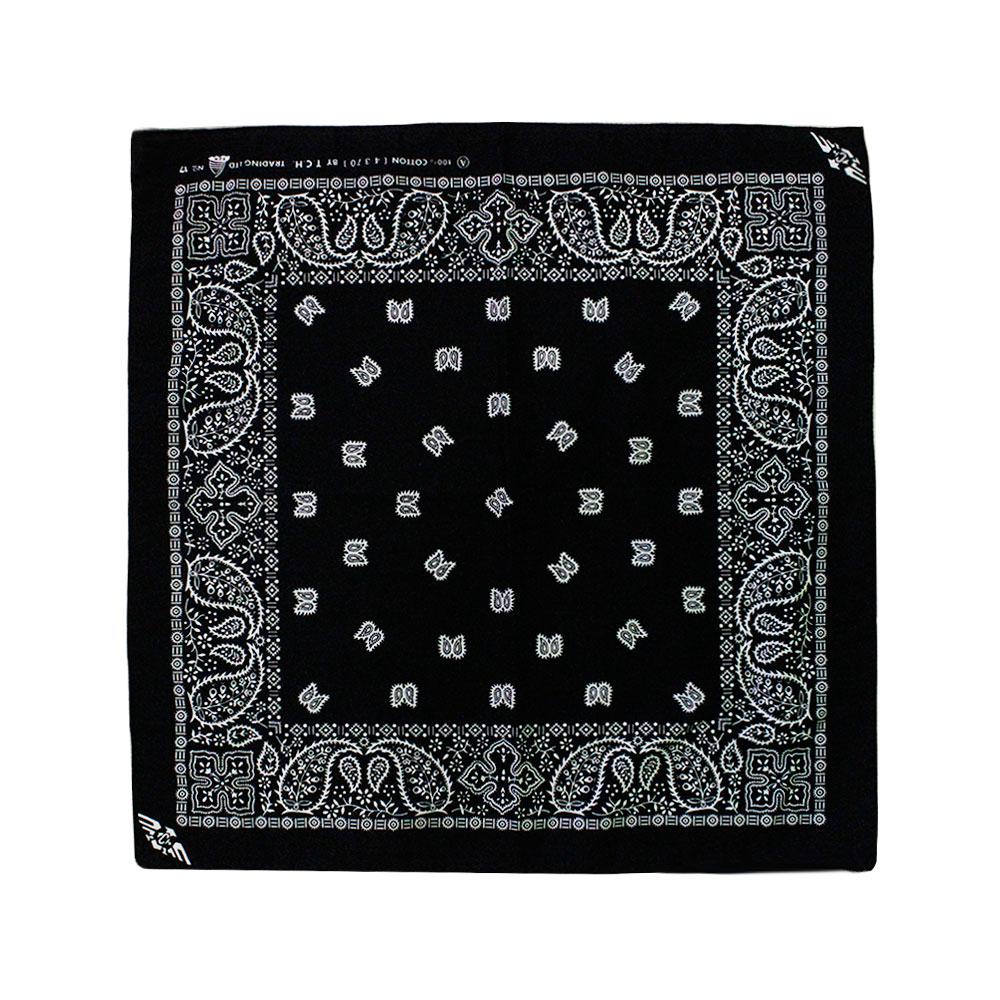 Square Bandana Black
