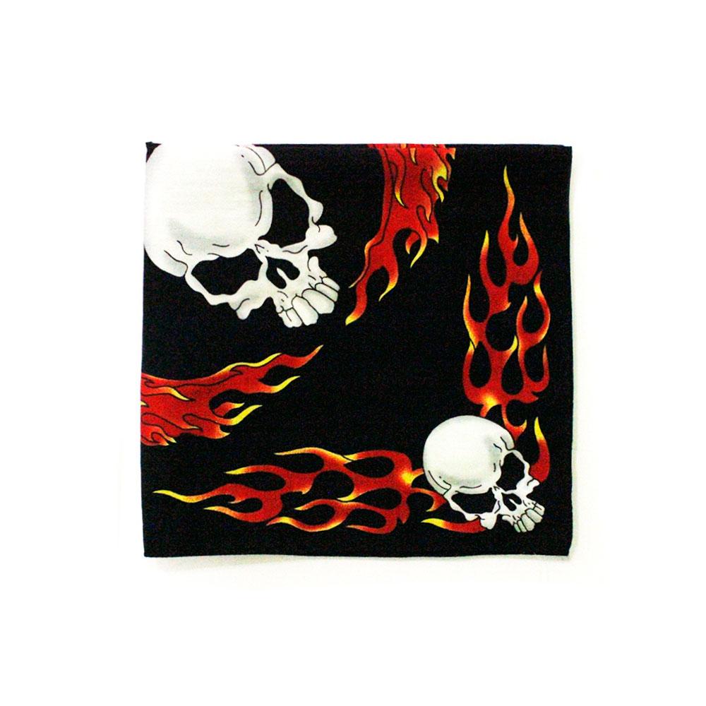 Square Bandana Skull