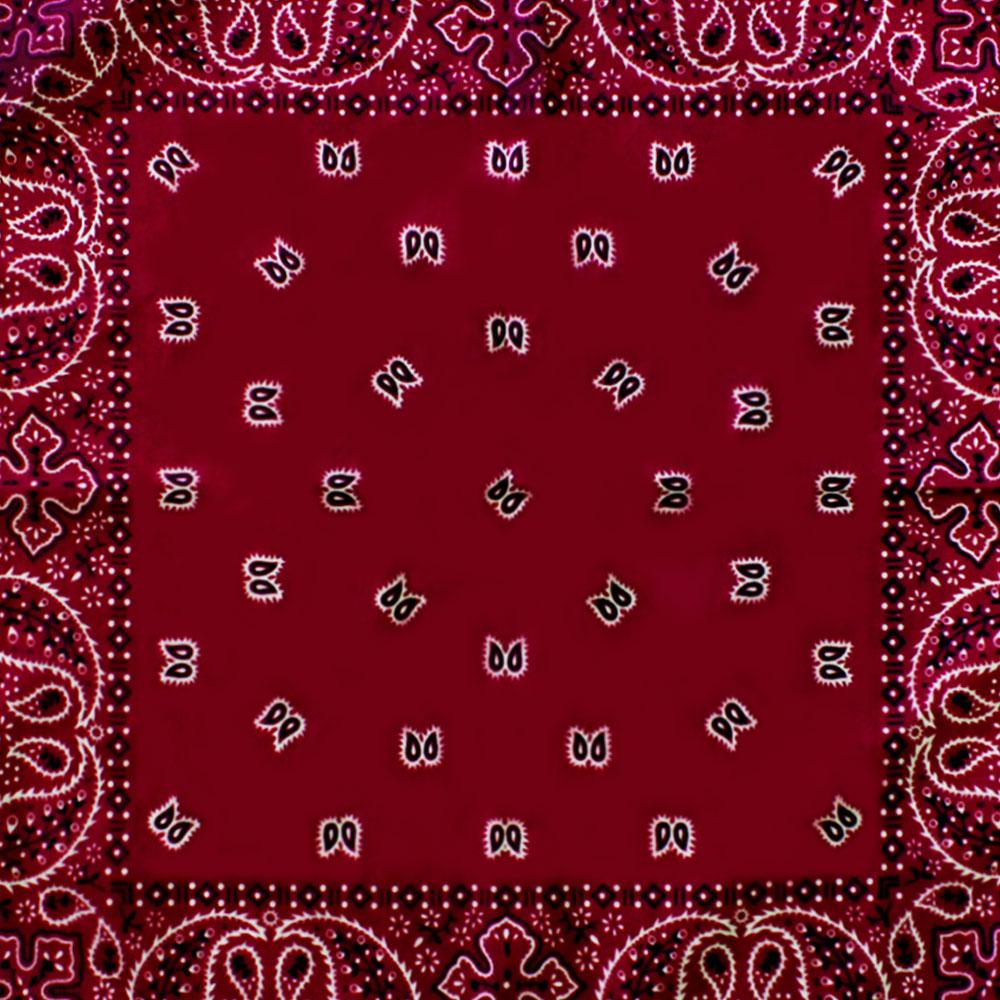 Square Bandana Red