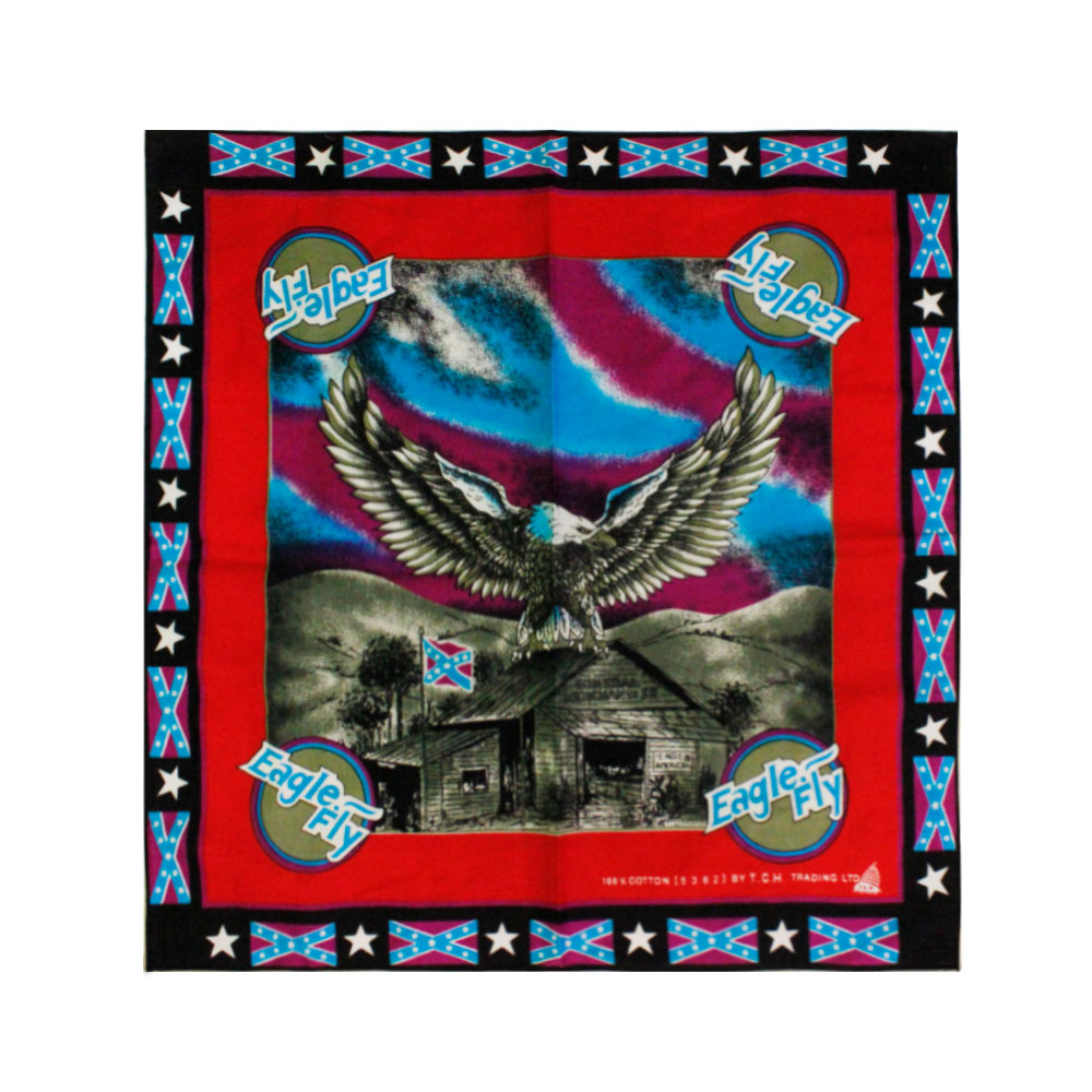 Square Bandana Eagle Fly