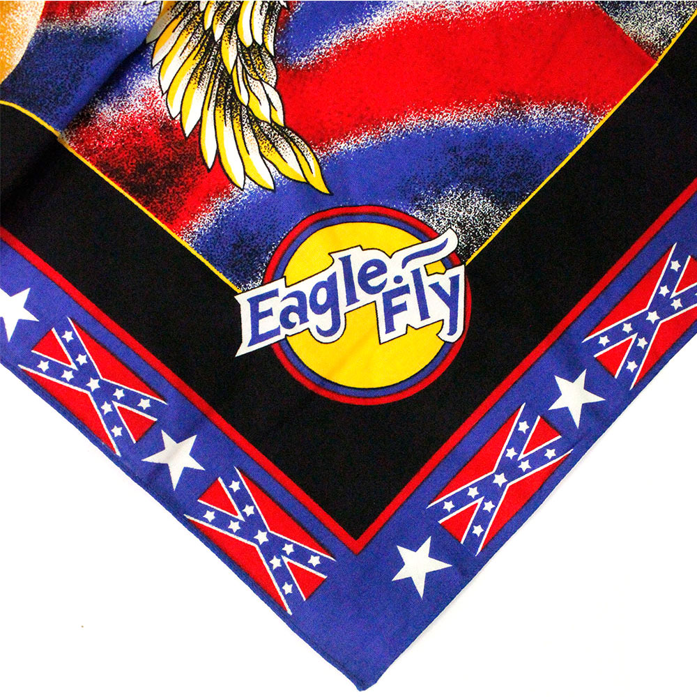 Square Bandana Eagle Fly