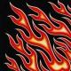 Square Bandana Fire