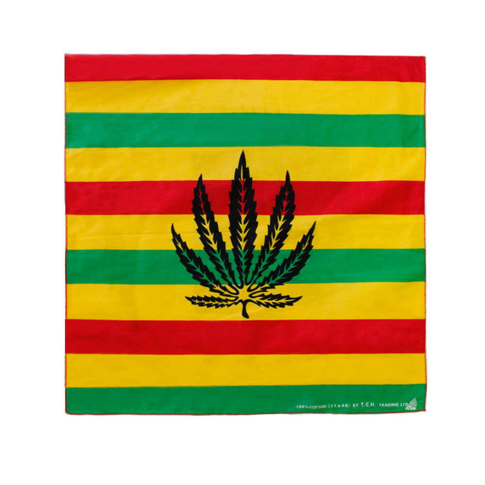 Square Bandana Leaf