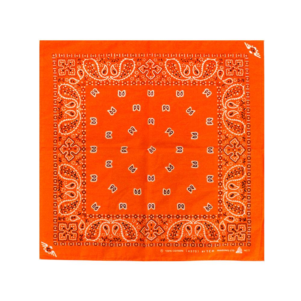 Square Bandana Orange