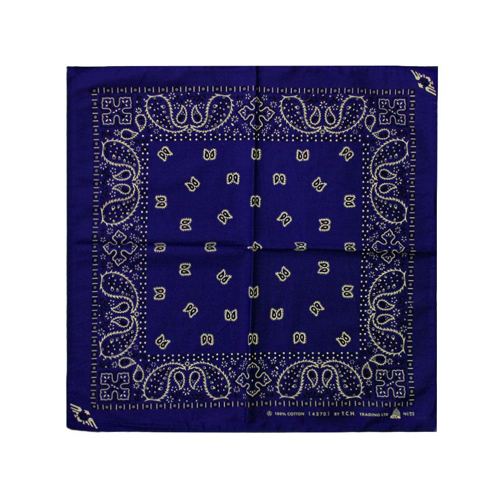 Square Bandana Blue