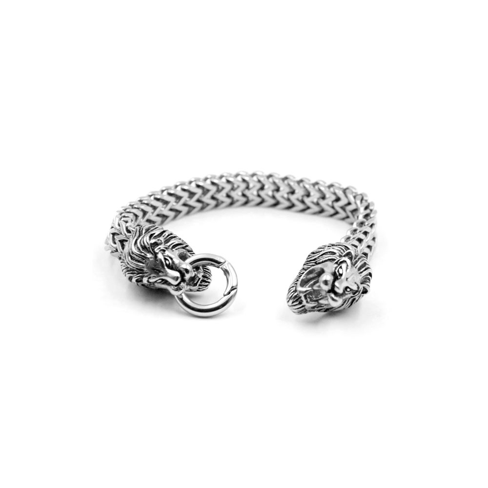 Bracelet Double Tiger Head
