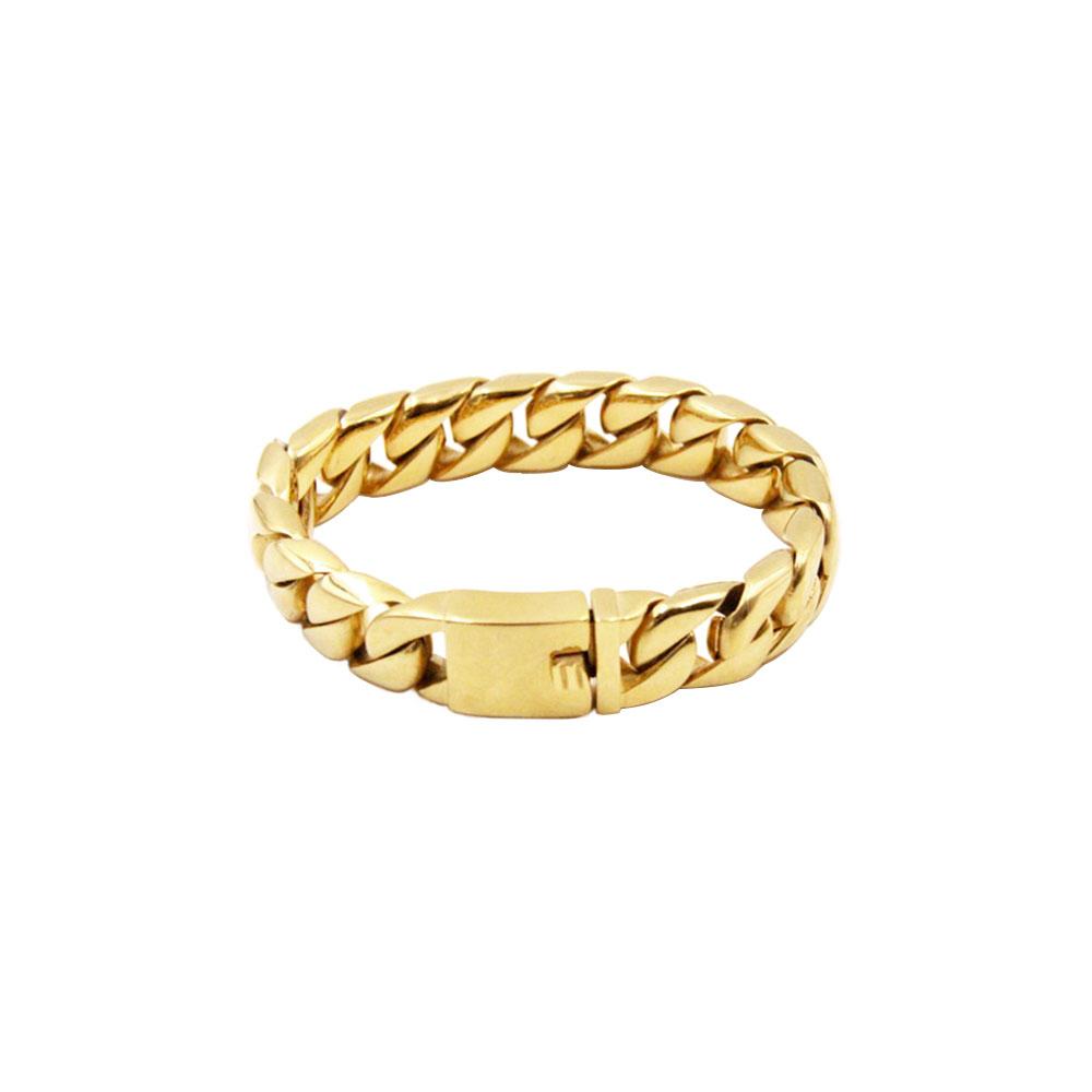 Steel Bracelet Gold