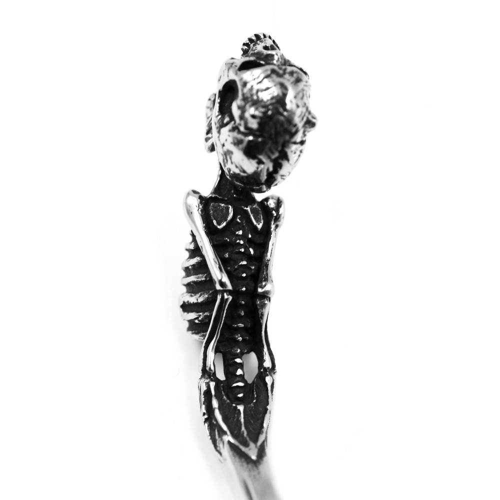 Steel Bracelet Skeleton