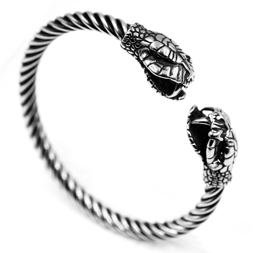 Steel Bracelet Snake