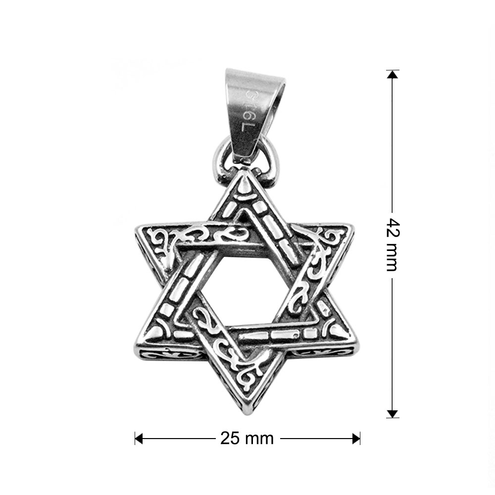 Pendant of Five-Pointed Star
