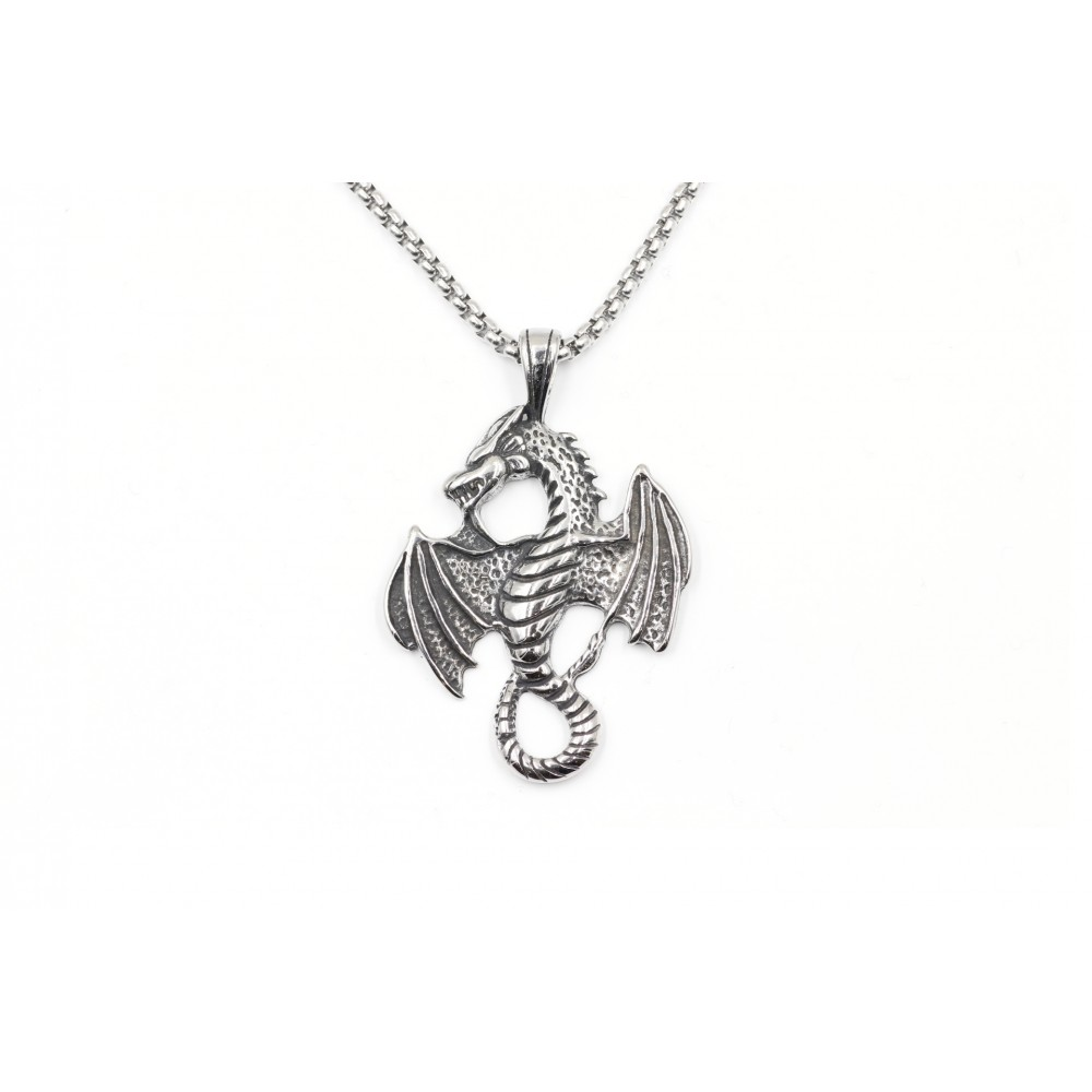 Necklace in the shape a Flying Dragon